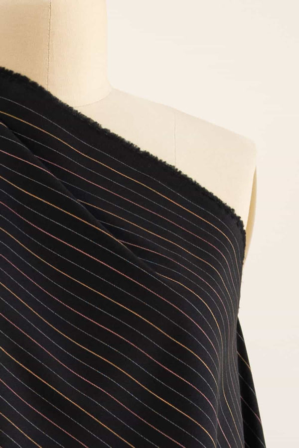Santa Fe Pin Stripe Stretch Woven