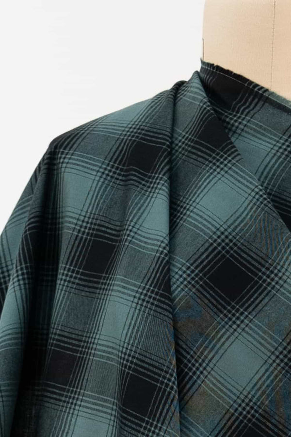 Sausalito Plaid Japanese Cotton Woven