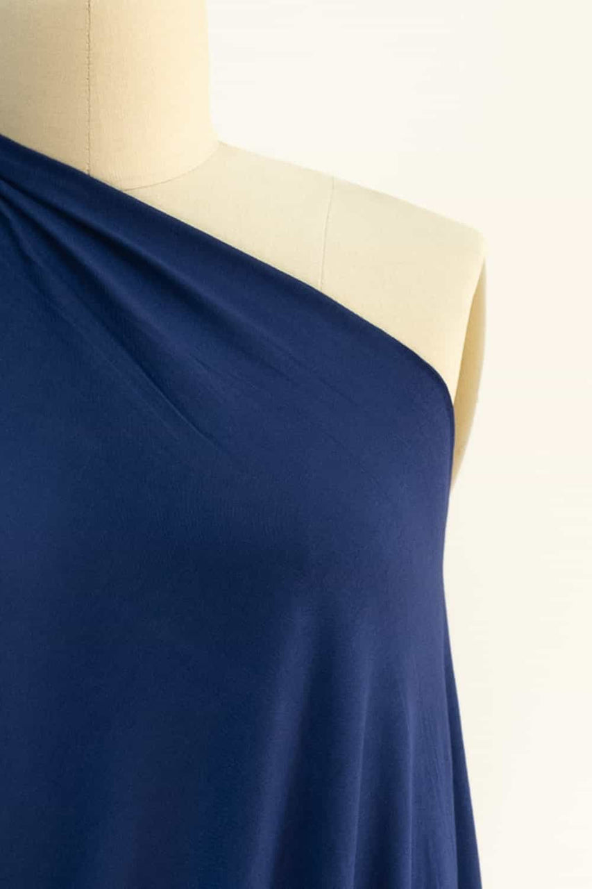 Steller Blue Bamboo Rayon/Spandex Knit