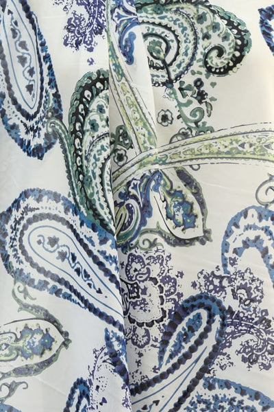 Summer Paisley Cotton Lawn Woven