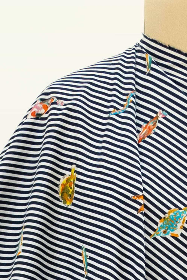 Sunfish Stripes Italian Cotton Woven