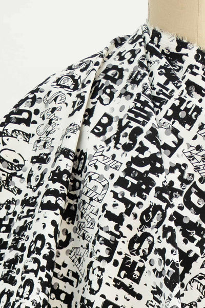 Texto Stretch Cotton Sateen Woven