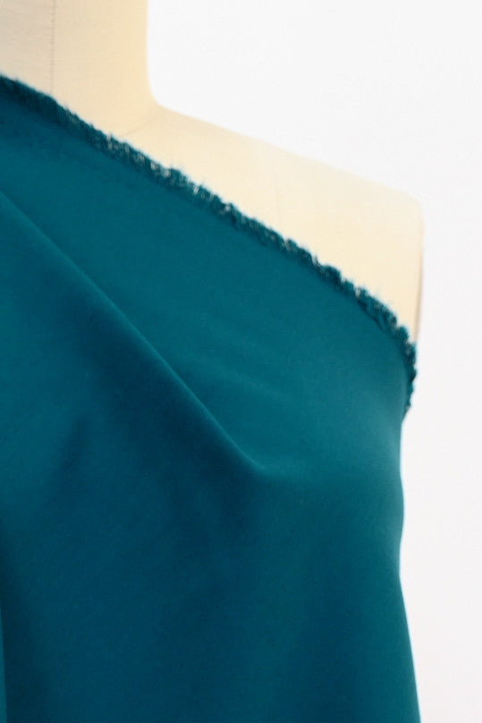 Toots Teal Stretch Woven