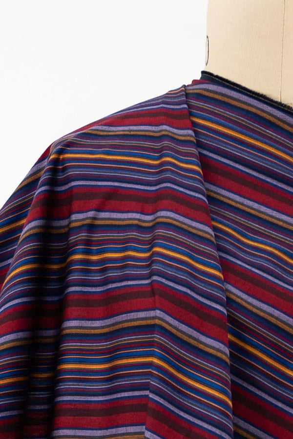 Umbria Stripe Japanese Cotton Woven