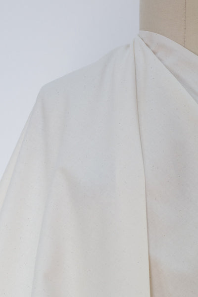 "Unbleached Cotton Muslin Woven 60"" Wide - 10 YARDS"