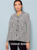 Slanted Door Novelty Ponte Knit