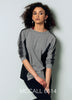 Parisian Plus Dark Gray Knit