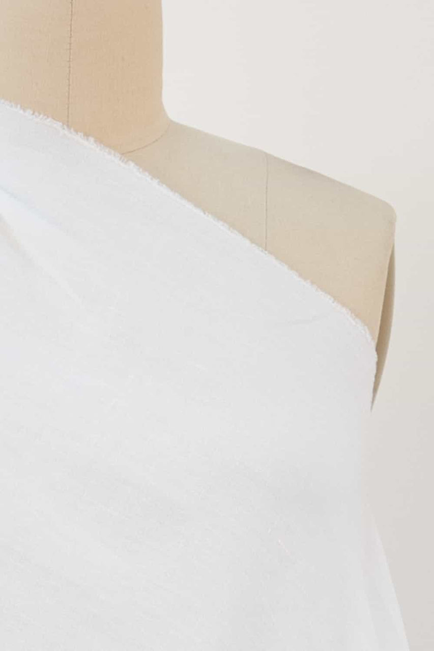 James Perse White Linen Woven