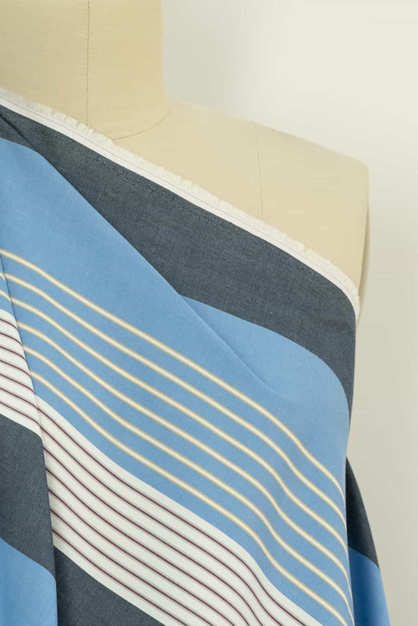 Wilde Stripe Japanese Cotton Woven