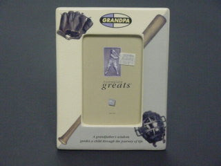 "#100486 - 4X6"" GRANDPA BASEBALL FRAME GB  -  12/CASE"