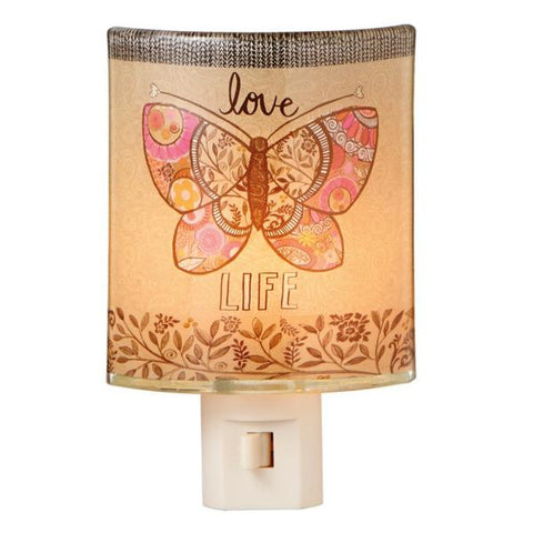 #109547 - LOVE LIFE BUTTERFLY NITE LIGHT  -  24/CASE