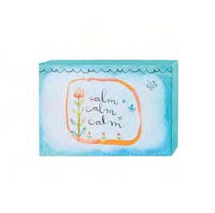 "#115785 - 6""W CANVAS WALL BLOCK-CALM  -  48/CASE"