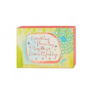 "#115790 - 6""W CANVAS WALL BLOCK-FLOWING  -  48/CASE"