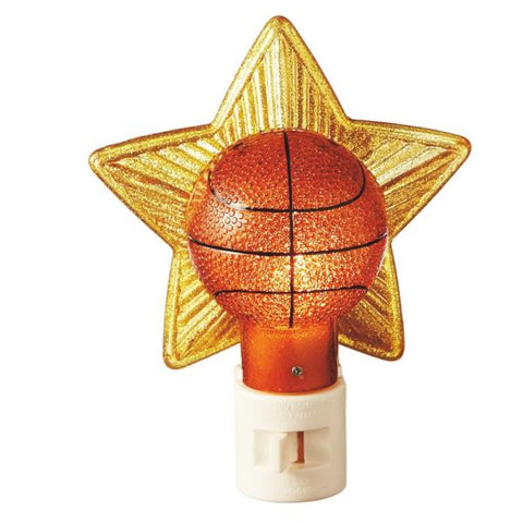 #116152 - BASKETBALL NIGHT LIGHT  -  24/CASE