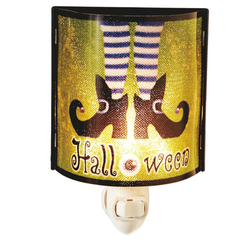 #117342 - HALLOWEEN WITCH NIGHTLIGHT  -  72/CASE