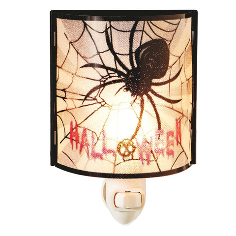 #117346 - PVC NIGHTLIGHT W/SPIDER  -  72/CASE