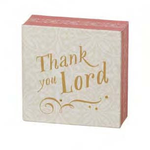 "#118332 - 4""SQ,CANVAS WALL DECOR-LORD  -  48/CASE"