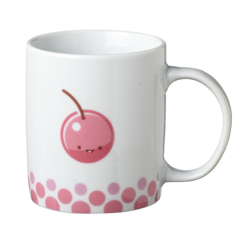 #118935 - CHEERY MUG PORCELAIN  -  24/CASE