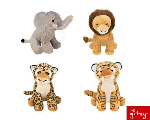 "#131762 - 15.75""JUNGLE ANIMALS  -  4/CASE"