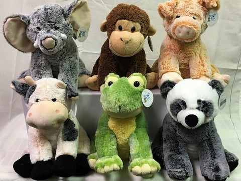 "#13179 - 11.5"" SITTING ZOO ANIMALS  -  12/CASE"