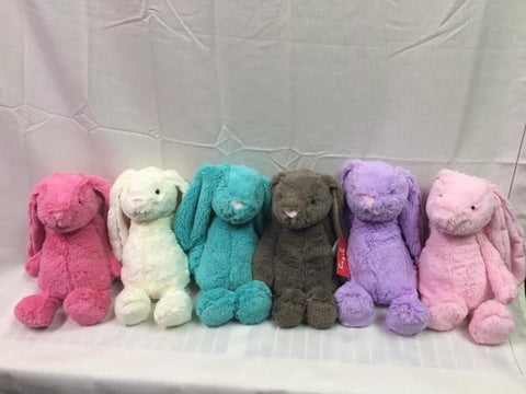 "#153108 - 9""COTTON CANDY BUNNIES-SITTING  -  24/CASE"