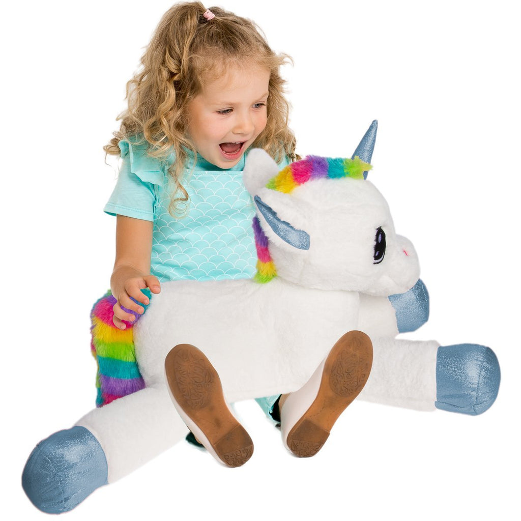 "#158295 - 25"" PLUSH UNICORN- YUNICE  -  6/CASE"