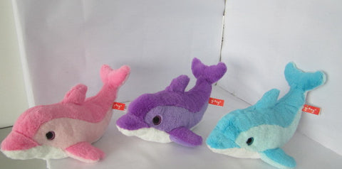 "#160892 - 15.75""PLUSH DOLPHINS 3AT  -  18/CASE"