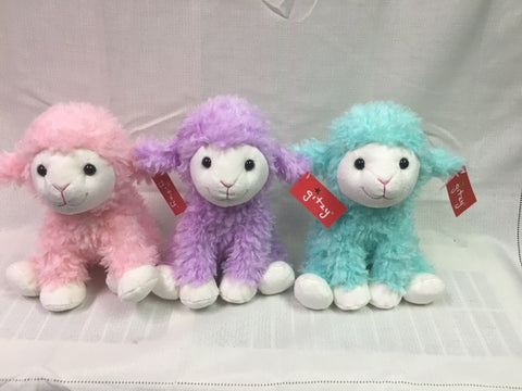 "#161097 - 9.5""SITTING SPARKLE LAMBS  -  24/CASE"