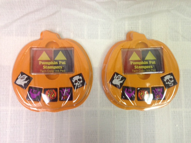 #16833 - PUMPKIN PAL STAMPER SET  -  144/CASE