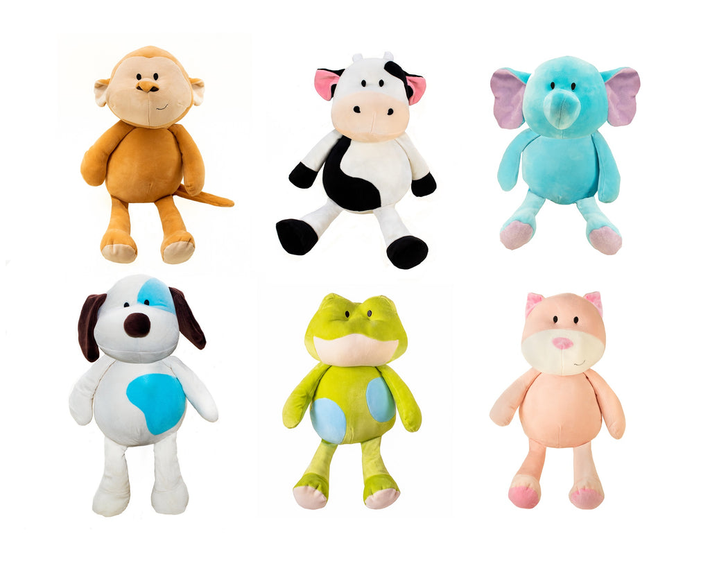 "#192534 - 11"" SUPERSOFT ANIMALS 6AT  -  24/CASE"