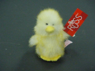 "#20053 - 4.5""PLUSH YELLOW TIP CHICK 1AT  -  96/CASE"