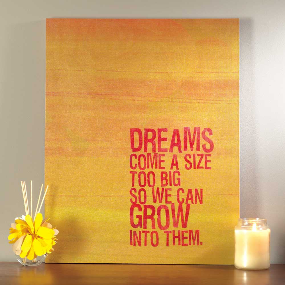 "#246133 - 22X28"" CANVAS-DREAMS  -  10/CASE"