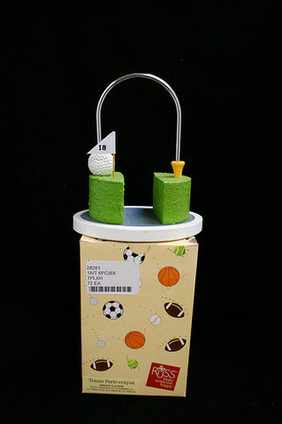 "#28281 - 5.5"" TENNIS PENCIL HOLDER GB  -  72/CASE"