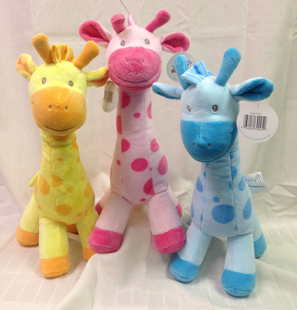 "#30005 - 15"" STANDING GIRAFFES 3AT  -  24/CASE"