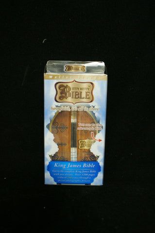 #31289 - ITTY BITTY BIBLE-KING JAMES  -  24/CASE
