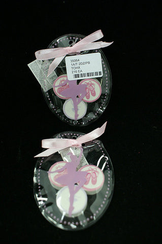 #35064 - SET/3 SCENTED BALLET ERASERS  -  216/CASE