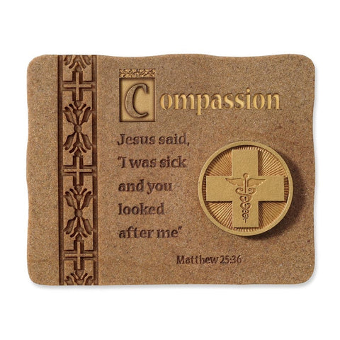 #4015791 - APPRECIATION PLAQUE-MEDICAL COMPASSION  -  36/CASE