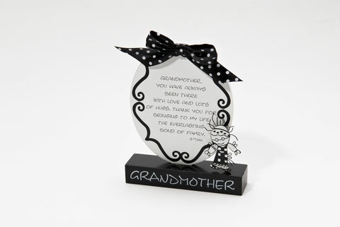 #4022490 - CHOIL PLAQUE GRANDMOTHER  -  12/CASE