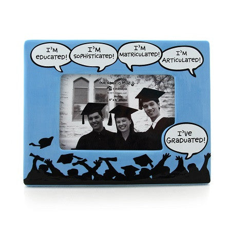"#4027115 - 4""X6"" FRAME I'VE GRADUATED  -  12/CASE"
