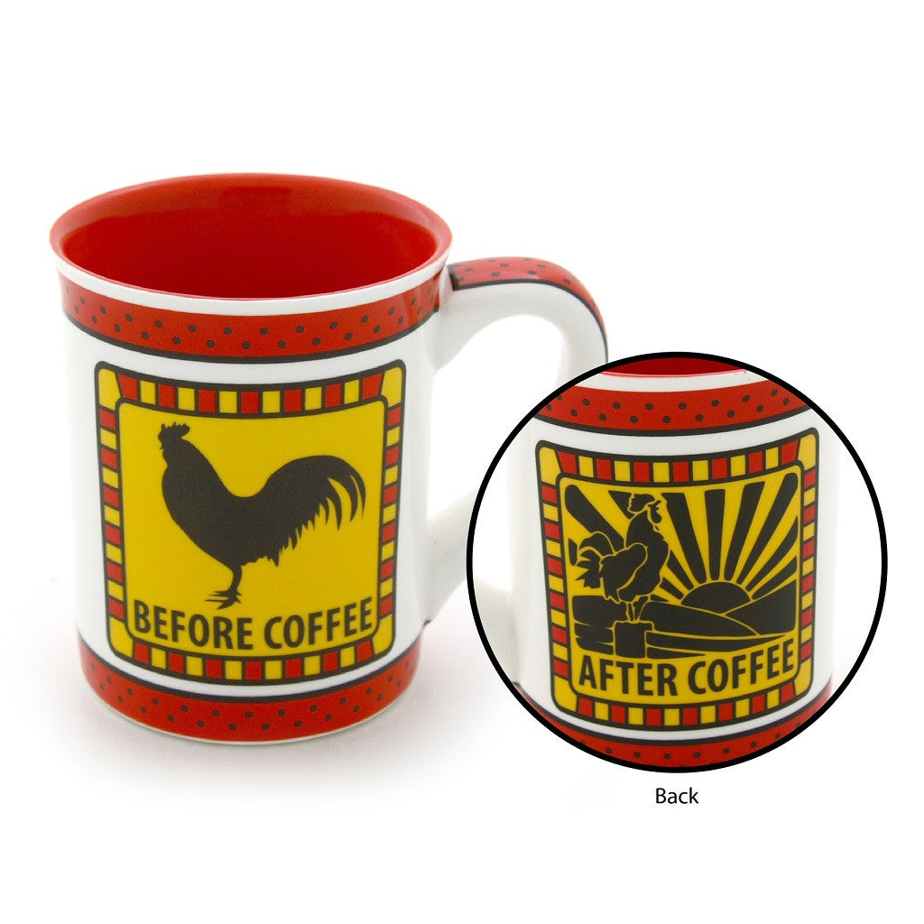 #4034998 - 16 OZ.ROOSTER MUG BE-4 COFFEE  -  24/CASE