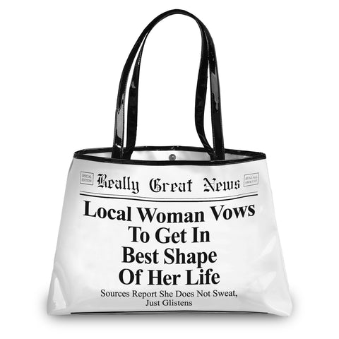 "#4035227 - 12""GREAT NEWS TOTE-BEST SHAPE  -  20/CASE"