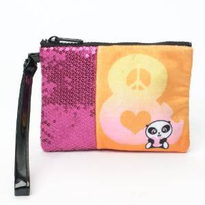 #4036862 - LIL'PANDA WRISTLET-PEACE/LOVE  -  240/CASE