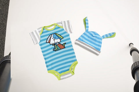 #4037374 - BRITTO BOY 0-6 ONESIE AND HAT  -  48/CASE