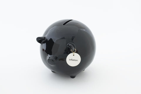 "#4038435 - 5.25""H PIG BANK-INFLATION  -  12/CASE"
