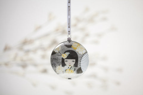 #4040744 - KIMMI GLASS ORNAMENT-NAOMI  -  36/CASE