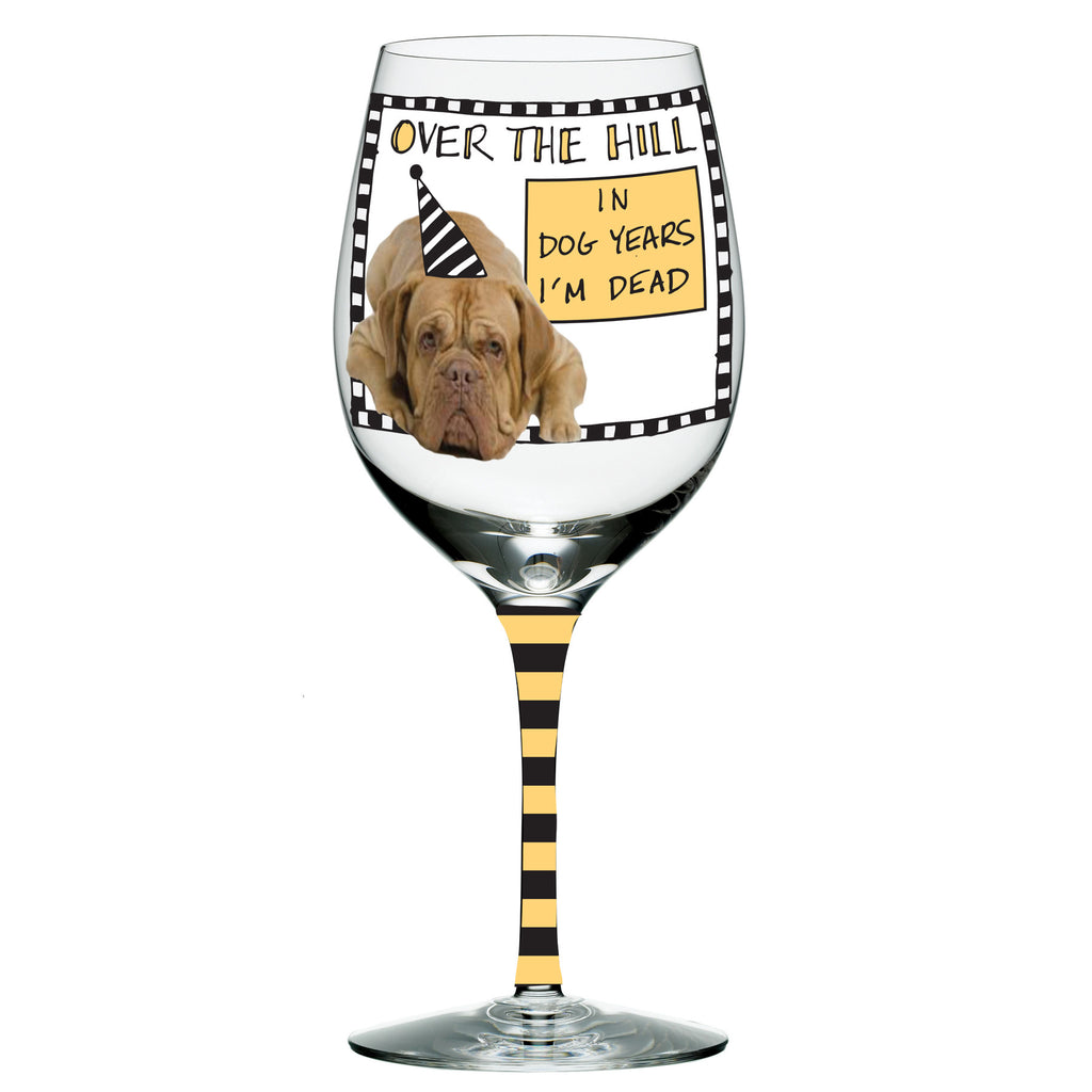 #4041555 - HOOTS WINE GLASS-OTH-DOG YEARS  -  16/CASE