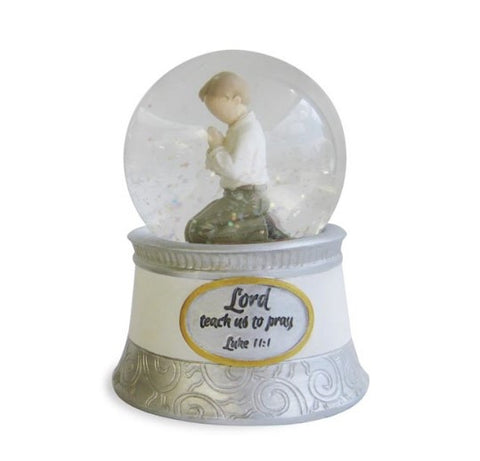 "#4042135 - 4""H WATERBALL-PRAYING BOY  -  12/CASE"