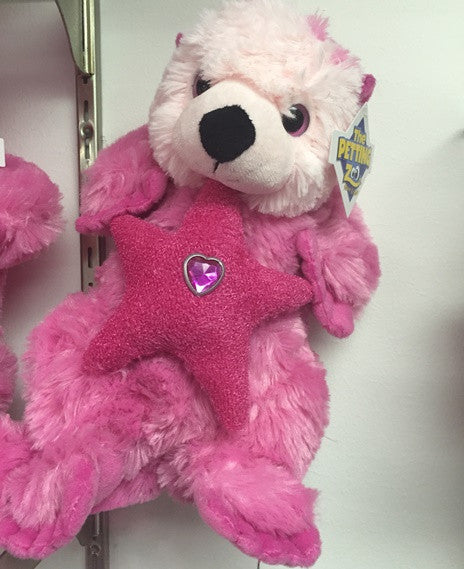 "#411514 - 12"" POSH PLUSH PINK SEA OTTER  -  24/CASE"