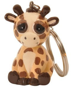 #412162 - BRIGHT EYES GIRAFFE KEYCHAIN  -  120/CASE