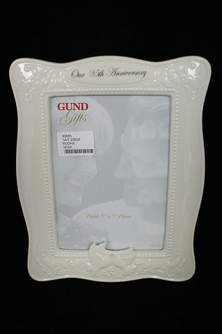 #60685 - HEARTS UNITED 25TH ANNIVERSARY FRAME GB  -  16/CASE